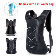69bed11b4b Breathable Bicycle Hydration Backpack Pack Vest Rucksack with 2L Bladder  Water