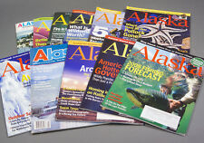 11 Back Issues of Alaska Magazine; Experience the Last Frontier - 1965 - 2008