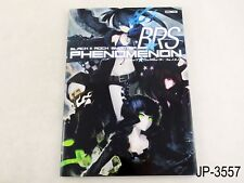 Black Rock Shooter Phenomenon BRS Japanese Artbook Japan Book Huke US Seller