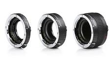 Movo AF Macro Extension Tube Set for Canon EOS DSLR Camera (12mm, 20mm, & 36mm)