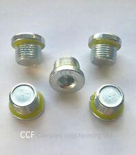 M10 x 1.00 mm Sump Plug Oil Pan Bolt BZP rimlex Sealing Plug en Vrac X 100 Pk