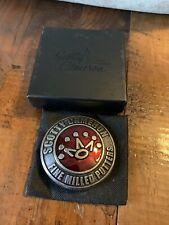 Scotty Cameron 2010 Red Crown Belt Buckle