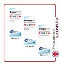 3 MASSIGEN OMEGA 3 CON EPA e DHA 60 PERLE DA 1,32g COLESTEROLO TRIGLICERIDI ALTI