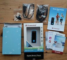 Transcend MP 350 MP3 Player Radio Fitness Tracker Rekorder Sportclip komplett