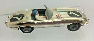 Corgi E Type Jaguar Competition Model 312 1964 - With Original Driver