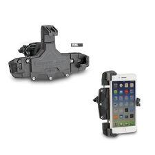 PINZA PORTA SMARTPHONE ATTACCO su TUBOLARI Ø 8 > 35 mm per Alcatel 5 - A3 XL