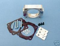 """FORD CROWN VICTORIA """"SWIRL"""" THROTTLE BODY SPACER 96-05"""