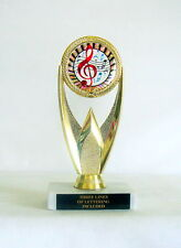 MUSIC TROPHY BAND TROPHY MUSIC AWARD