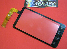Kit Ricambio TOUCH SCREEN +VETRO PER HTC EVO 3D G17 X515 per Display Lcd Nuovo