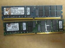 KTM2865-4G - RAM - PC2 3200 R - 4 GB KIT ( 2X2 GB) - 400 MHZ - CL3 - ECC - DDR2
