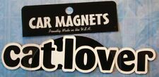 "CAR MAGNET ""CAT LOVER""  FOR CAT LOVERS"