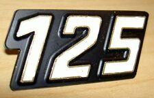 1980 Laverda Zundapp 125cc NOS gold & black side cover badge SOLD EACH