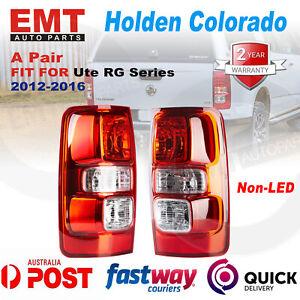 Set / Pair LH+RH Tail Light Lamp (Non LED) For Holden Colorado Ute RG 2012~2016