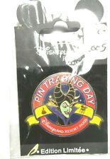 New ListingDisneyland Paris 2005 Maleficent Mystery Trading Day pin Le800