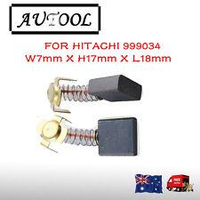 Carbon Brushes For Hitachi 999034 Cut-off Saw CS-14 PDU-230 PDM-230 AU seller