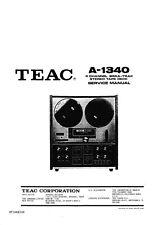 Service Manual-Anleitung für Teac A-1340