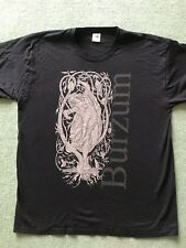 1BURZUM Fallen T Shirt XL Rare Black Metal