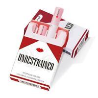 4pcs Zigarette Lippenstift Set Matte Velvet langlebige Pfeife Lipstick Crea G5I1