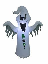 Halloween LED Air Blown Inflatable Yard Party Garden Blowup Decoration Ghost BOO