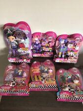 1 Doll & Lot/5 Sets Kuu Kuu Narajuku Dolls Clothes Accessories with Charms Wear