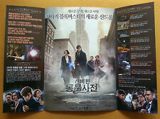 Fantastic Beasts and Where to Find Them Korean Movie Posters Flyers (Ver.2 of 2)