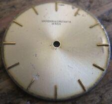 vacheron contantin dial  gold color  19 mm for cal 1003
