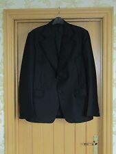 "Crimplene ICI design circle Collier vintage black braided evening jacket vgc 40"""