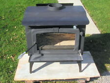 """Pleasant Hearth 1800 sq ft  Medium Wood Stove with Blower LWS-127201 22"""" Logs"""