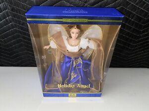 Barbie Holiday Angel Doll 28080 Blue Dress Collectors Edition 2000 RARE NIB