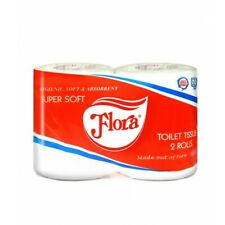 Toilet Papers 10 Rolls Flora Sri Lanka Package - Fast Shipping