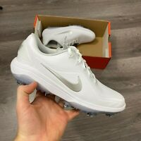 WOMENS NIKE REACT VAPOR 2 WHITE SILVER GOLF SHOES TRAINER SIZE UK6 US8.5 EUR40