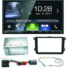 Kenwood DMX-7017DABS Bluetooth Autoradio Einbauset für Skoda Fabia Roomster Prak