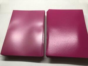 Lenayuyu 100pcs Rosered Deck Protector Standard MTG Card Sleeves 66x91mm Matte