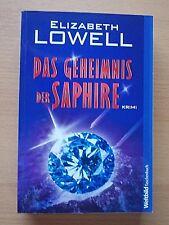DAS GEHEIMNIS DER SAPHIRE von Elizabeth Lowell (2012 TB) - UNGELESEN