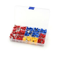 280Pcs/box Assorted Insulated Spade Crimp Terminal Electrical Wire Connect FO