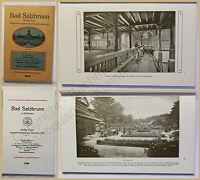 Orig. Prospekt Bad Salzbrunn in Schlesien 1919 Landeskunde Ortskunde xy