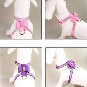 Pet Chest Back Bow Explosion-proof Punch Durable Comfortable Vest Chest B