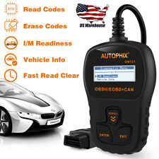 OBD2 EOBD Scanner Code Reader Car Engine Fault Codes Auto Diagnostic Scan Tool