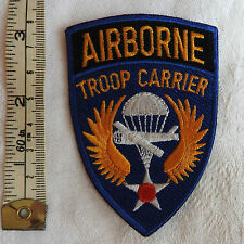 Military American Airborne Troop Carrier US Air Force Cloth Badge (3433