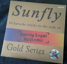 Karaoke cdg discGD-032 Sunfly Gold, Barely Legal Anthems,see Descript.,16 trks.