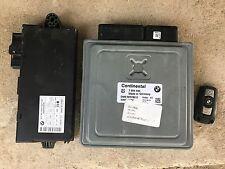 OEM BMW 3 e90 328i Sedan ECU DME Key Ignition Immobilizer Module Set
