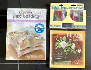 Simple Glass Beading,  Books & Craft Kit With Pack Of MANY Beads