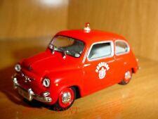 SEAT 600D 600 D FIAT 1st LINE FIREMEN CAR FIRE 1:43 '66 BOMBEROS POMPIERS
