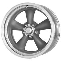 "4-AR VN215 Torq Thrust 2 14x7 5x4.5"" +0mm Gunmetal Wheels Rims 14"" Inch"
