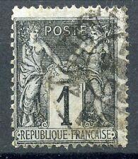 STAMP / TIMBRE DE FRANCE TYPE SAGE OBLITERE  N° 83