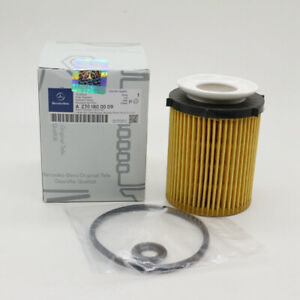Mercedes-Benz 2.0L Engine Oil Filter Kit 2701800009