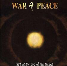 Light at the End of the Tunnel by War & Peace (CD, May-2001, Shrapnel)