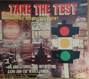 Vintage Peter Pan Playthings Take The Test Board Game 1967