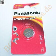 2 x CR1632 EL/1B 3V Lithium Power Batterie PANASONI Panasonic Knopfzelle 2pcs