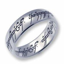 Herr der Ringe/Hobbit Schmuck by Schumann Design der EINE Ring ,925 Silber, 50 !